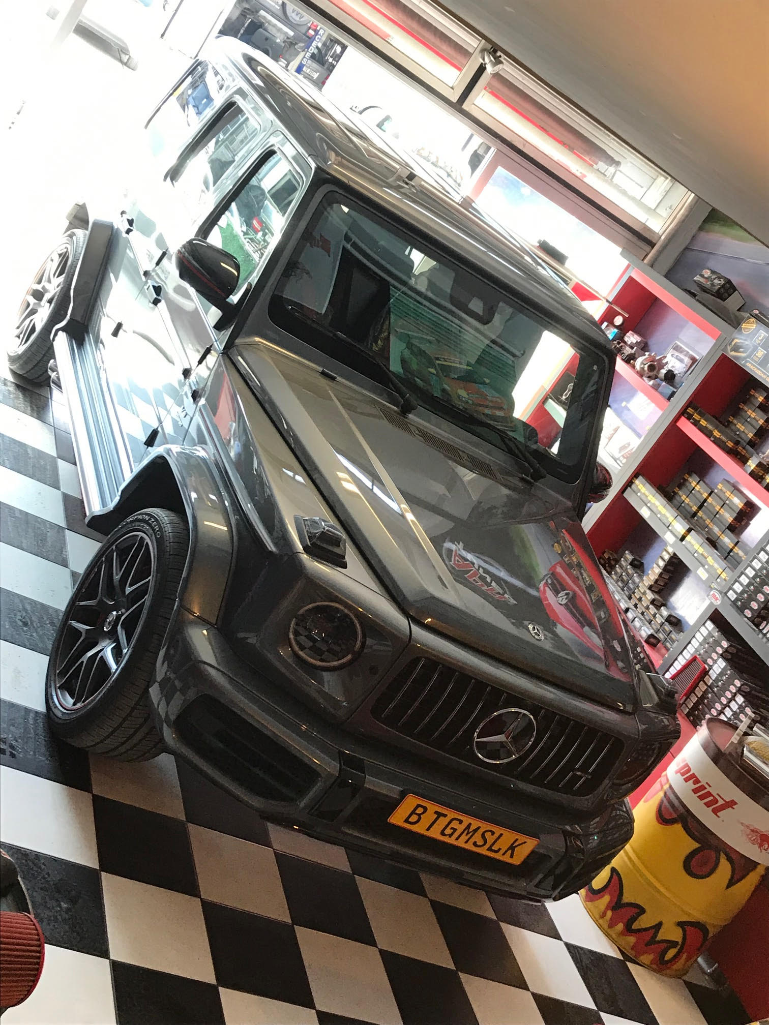 Mercedes Benz G63 AMG Superchips