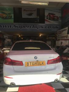 BMW 520d Chip Tuning