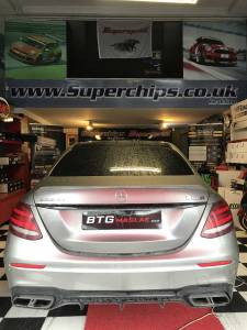 Mercedes Benz E63s Chip Tuning